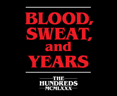 BLOOD, SWEAT, and YEARS