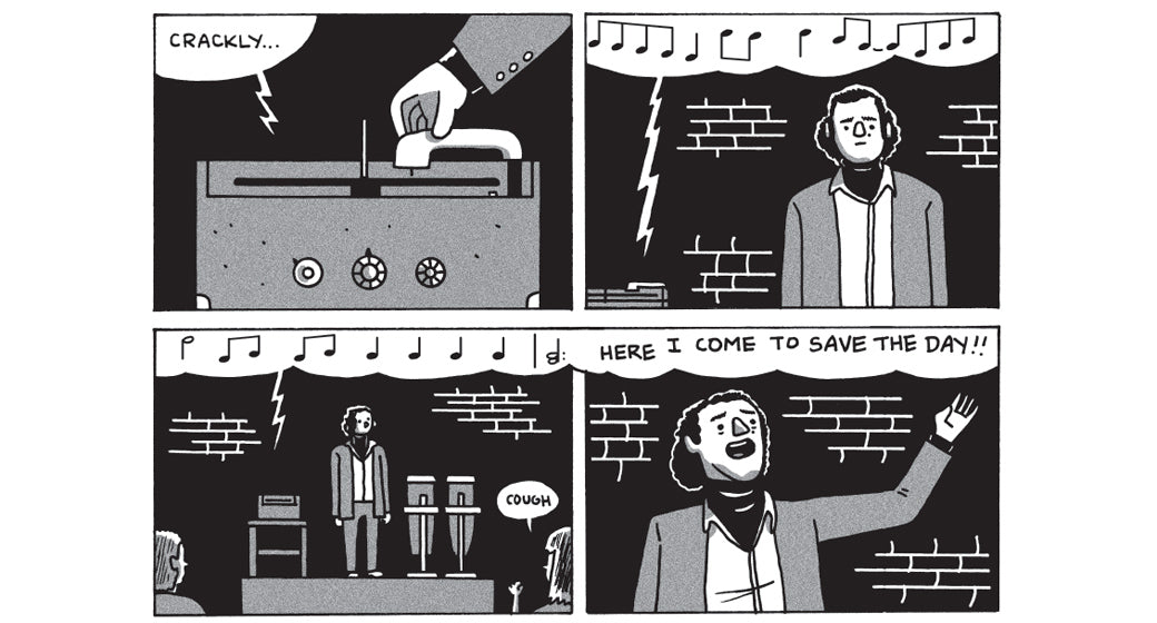Remembering the Genius of Andy Kaufman with Box Brown's New Graphic Novel 'Is This Guy For Real?'