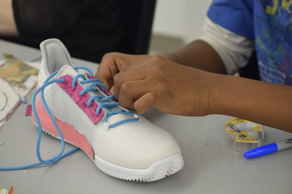 High School Students Get A Crash Course in Sneaker Design and Marketing with Incorp[HER]ated