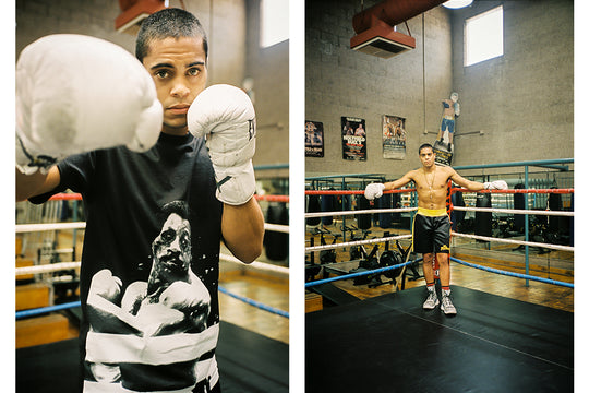 "Southpaw Rising :: A Conversation with David ""Junebug"" Mijares"