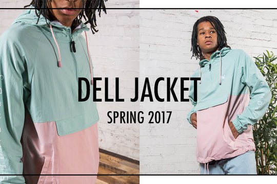 "The ""Dell"" Jacket :: Breakin' Necks In New Colorways For Spring '17"