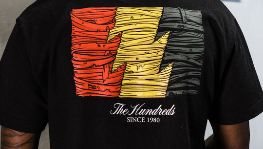 The Hundreds X Blue The Great
