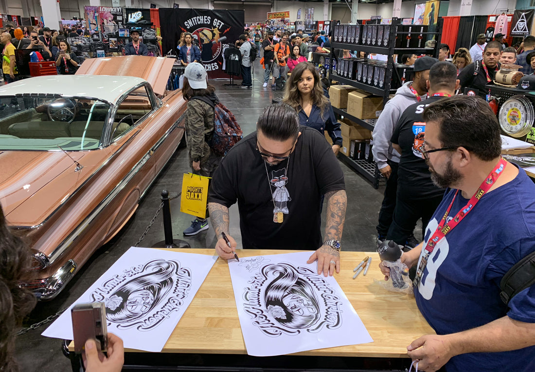 Recap :: The Hundreds by Mister Cartoon at DesignerCon