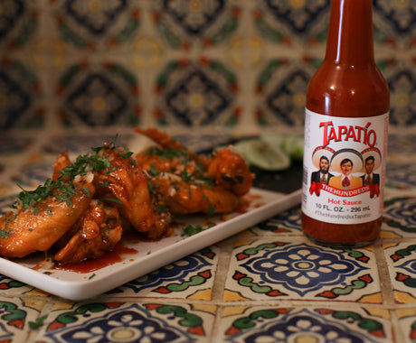 Make Your Own Free Range LA Tapatio Hot Wings