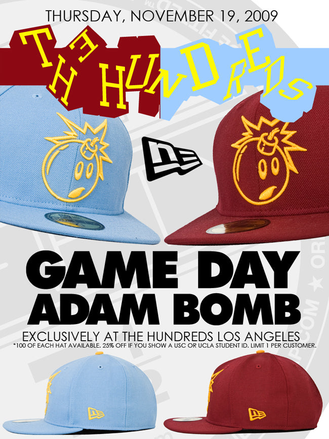 GAME DAY ADAM BOMB: PART 2.