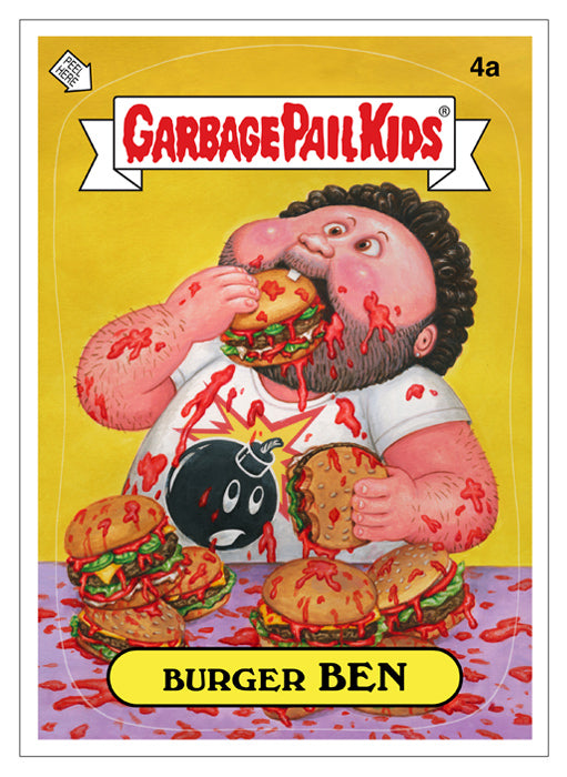 THE HUNDREDS + TOPPS + GARBAGE PAIL KIDS : BURGER BEN