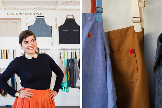 Meet Ellen Bennett, the Woman Running the Hedley & Bennett Apron Empire