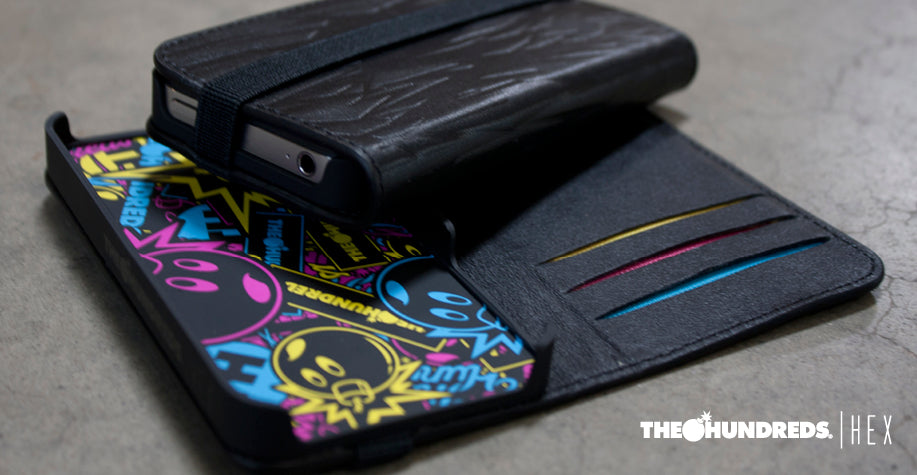 "THE HUNDREDS X HEX ""CODE"" WALLET : CMYK"