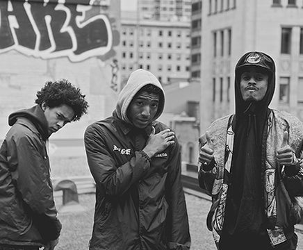 Hold On I'm Staying Home :: Interview with Montreal Rap Group The Posterz