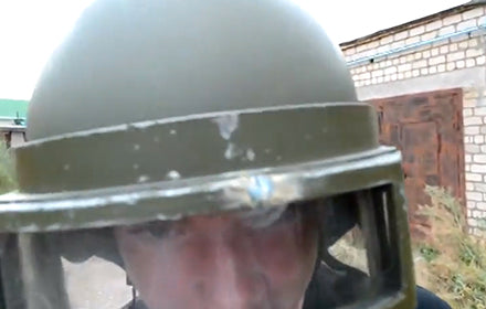 HOW THEY TEST BULLETPROOF HELMETS IN RUSSIA