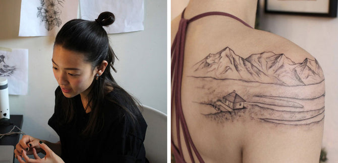 Talking Tattoo Culture & Identity with Rising Toronto Artist, Jess Chen