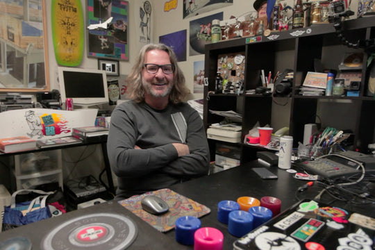 Video :: Bobby Hundreds Interviews Jim Gray of Acme Skateboards