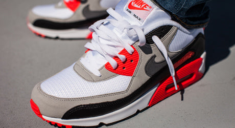 nike air max 90 infrared colorway