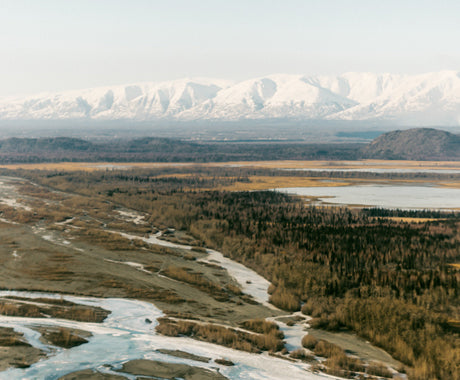 PEEKING OVER THE PEAKS :: AN AERIAL PHOTOSHOOT OF ALASKA
