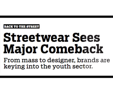 BOBBY HUNDREDS IN WWD ARTICLE ON STREETWEAR