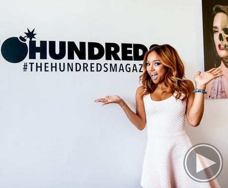 The Hundreds Summer 2014 Magazine :: Karrueche at RSWD