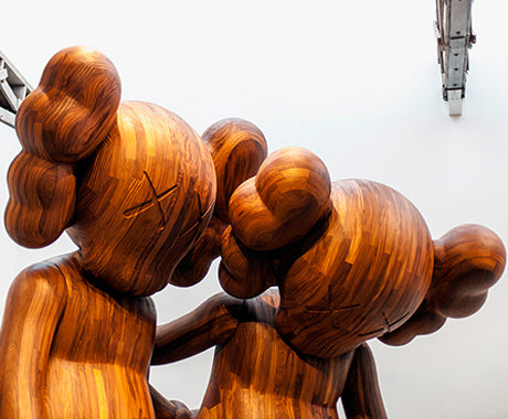 DOWN FOR THE KAWS :: CHECKING OUT HIS LATEST FROM NYC.
