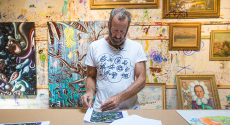 In the Studio with Artist Kenny Scharf