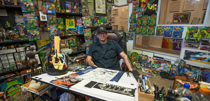 Turtles in Time :: Interview w/ TMNT Co-Creator Kevin Eastman