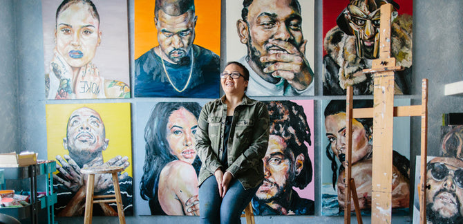 How Tyler, the Creator Helped a 21-Year-Old Artist Realize Her Rap Portraiture Dreams