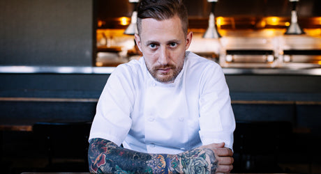 Chef Michael Voltaggio of ink. Interview & Exclusive Recipe Demonstration