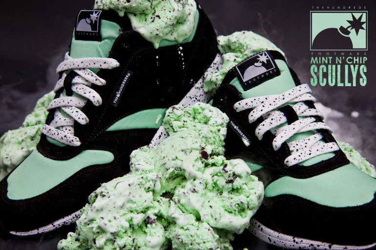 "THE HUNDREDS FOOTWARE : THE ""MINT N' CHIP"" SCULLY"