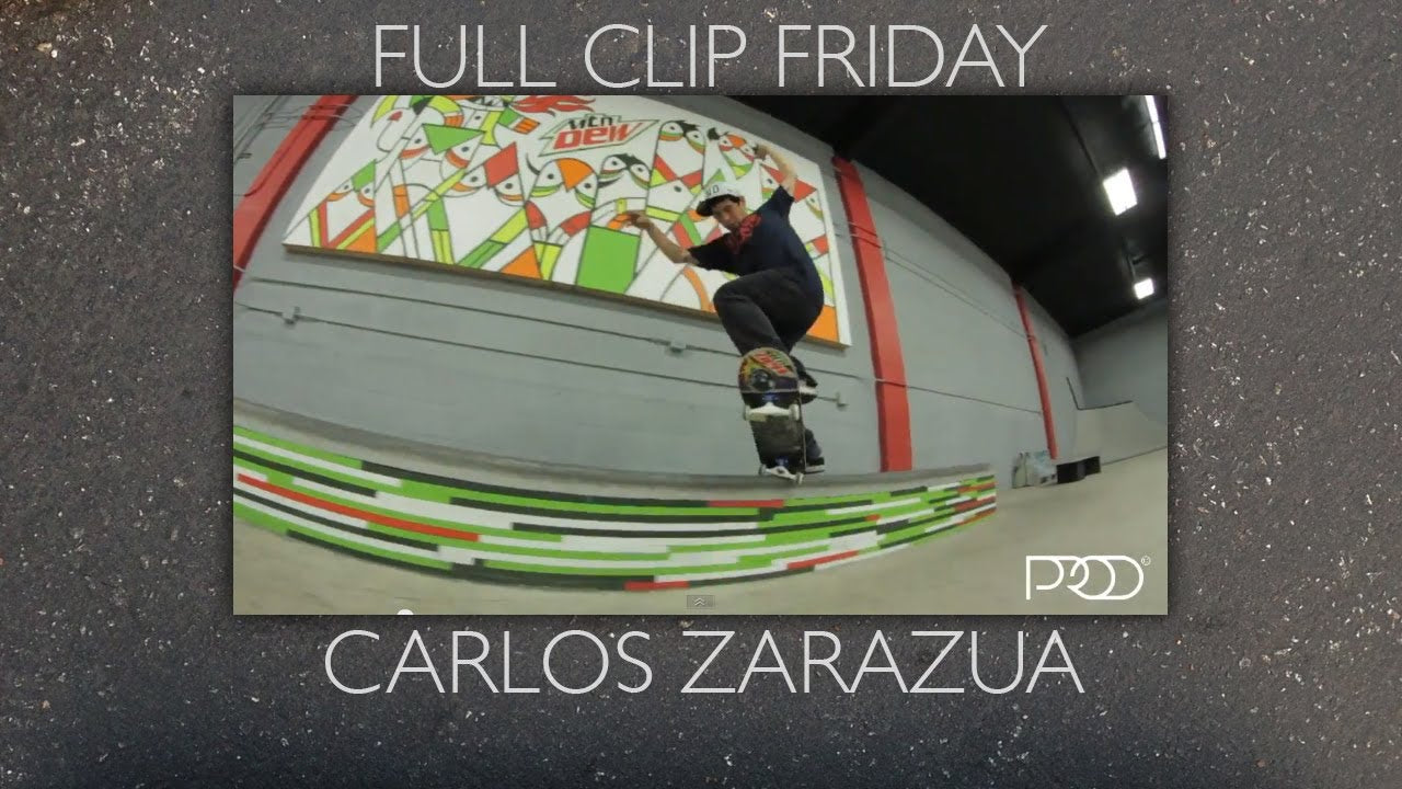 "P-ROD'S ""FULL CLIP FRIDAY"" W/ CARLOS ZARAZUA"