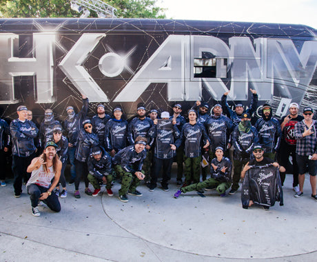 The Hundreds Goes Paintballing with HK Army