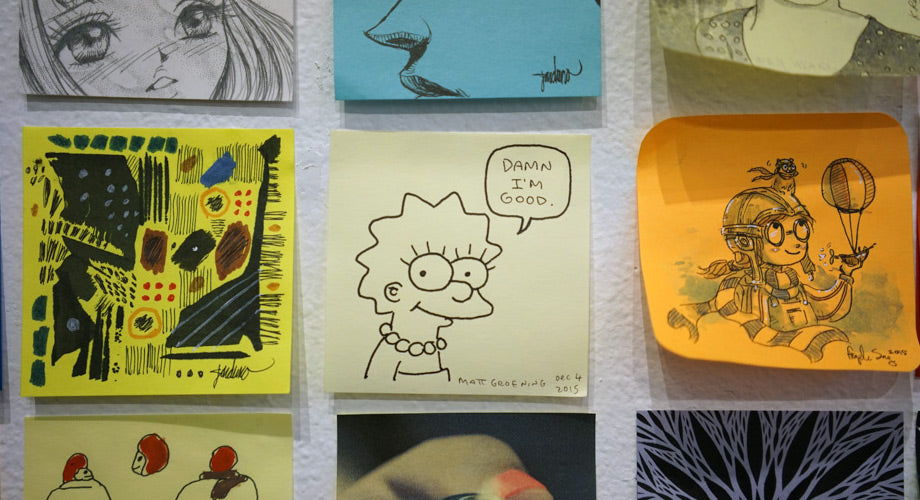 The Best of Giant Robot's Post-It Show