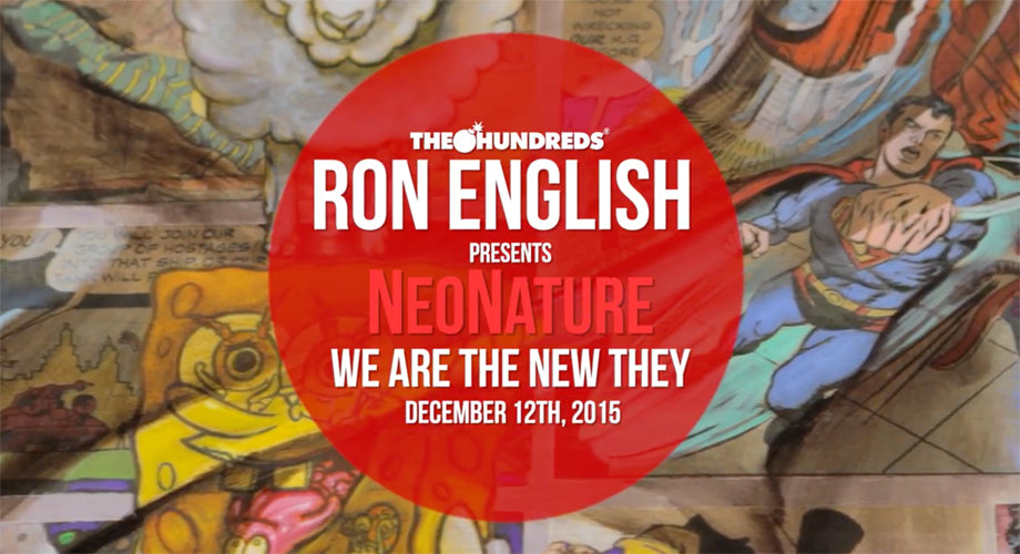 Video :: Ron English on His Latest Show