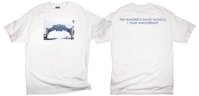 HAPPY ONE-YEAR ANNIVERSARY THE HUNDREDS SANTA MONICA!