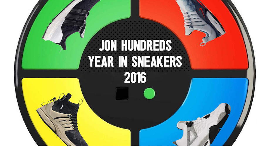 No Raffles Needed :: Jon Hundreds Reveals His Top Sneakers of the Year
