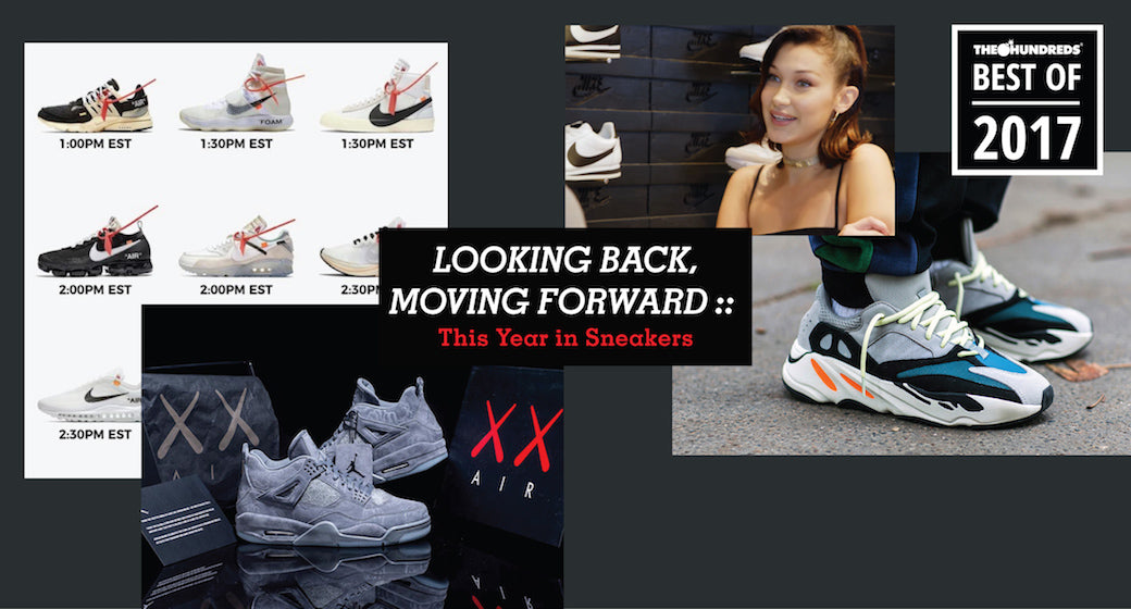 Looking Back, Moving Forward :: This Year in Sneakers