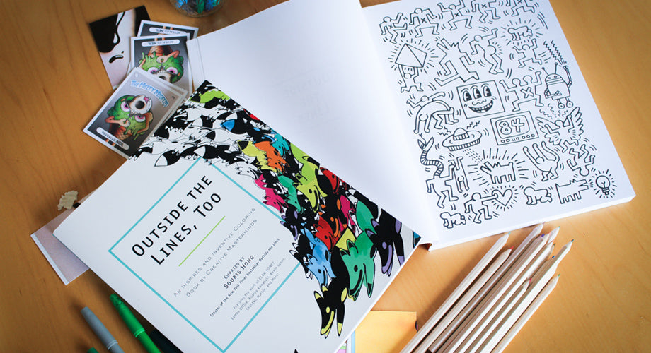 This New York Times Bestseller Without Words Is an Artists' Coloring Book