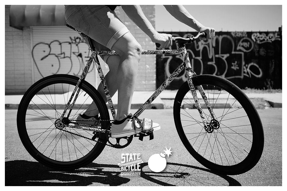 THE HUNDREDS X STATE BICYCLE COMPANY