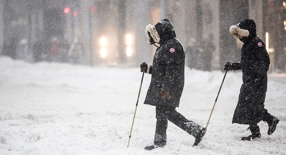 Striking Street Photos of Storm Jonas in New York City