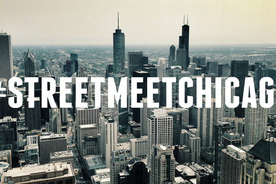LIVE SHOTS FROM THE HUNDREDS' #STREETMEETCHICAGO