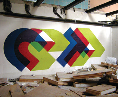 ITALY'S KING OF MINIMALIST GRAFFITI ::