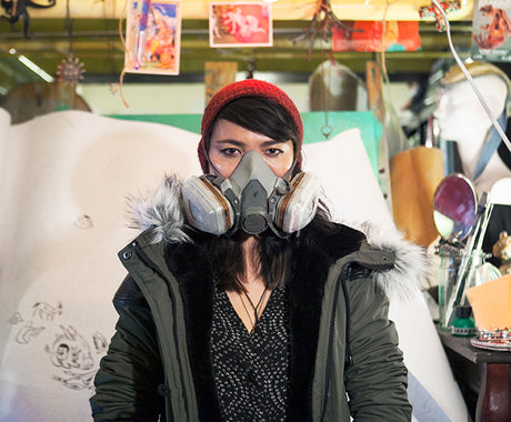 STUDIO VISIT & INTERVIEW :: THE WILD IMAGINATION OF ARTIST LAUREN YS