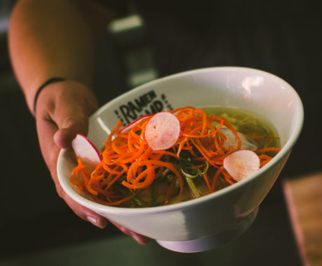 WE VISITED THE CO-CREATOR OF EGGSLUT'S NEW RESTAURANT, RAMEN CHAMP