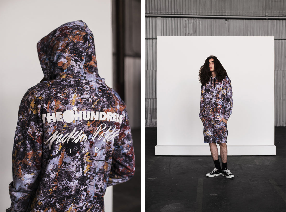 American Iconoclast :: The Story Behind The Hundreds X Jackson Pollock