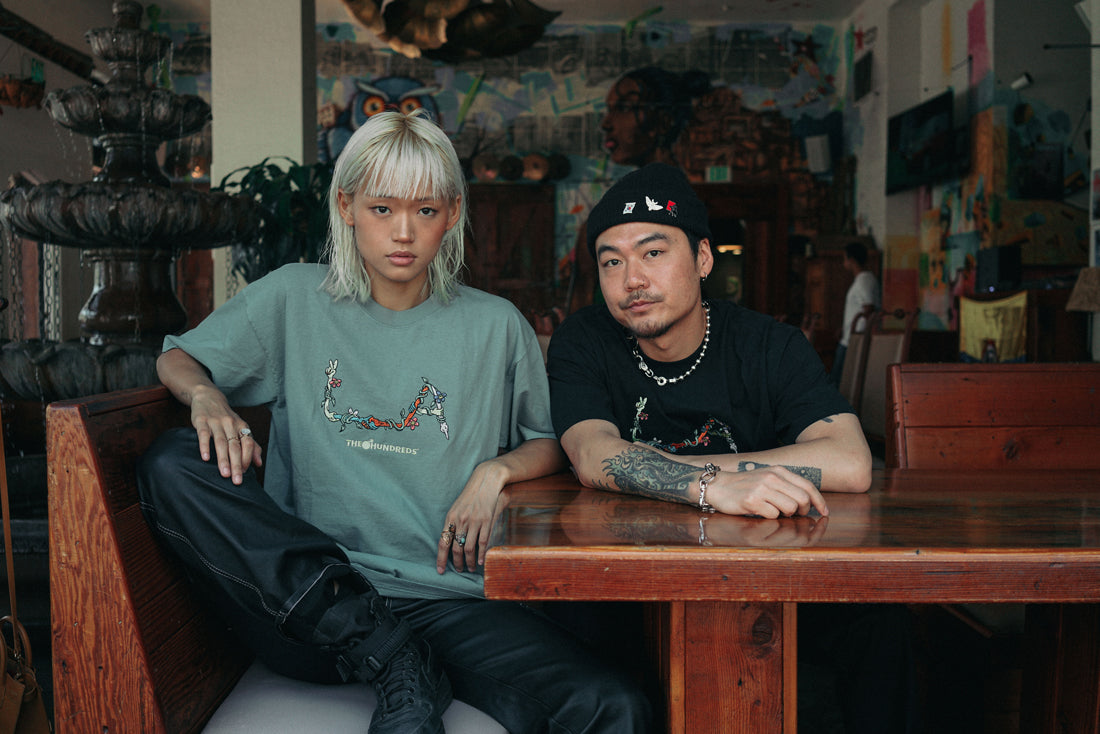 The Hundreds X LA Original Lookbook, Featuring Dumbfoundead & Kitty