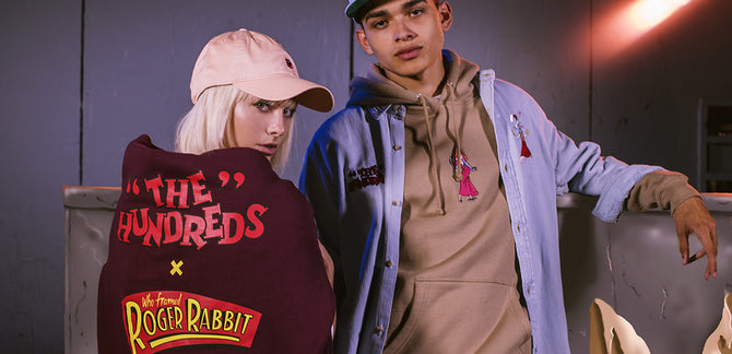 The Hundreds X Who Framed Roger Rabbit Lookbook