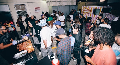 The Hundreds X 40s & Shorties Backyard BBQ Release Party Recap