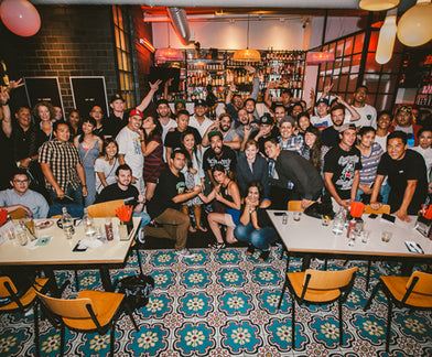 THE HUNDREDS' INAUGURAL EAT MEET AT EAST BOROUGH
