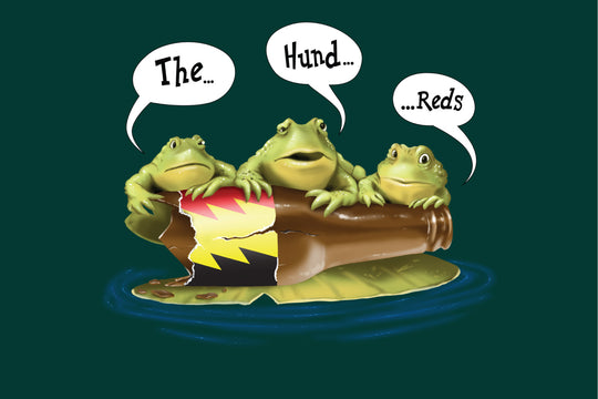 Behind the Shirt :: An Ode to Three Frogs Memorialized in Advertising History
