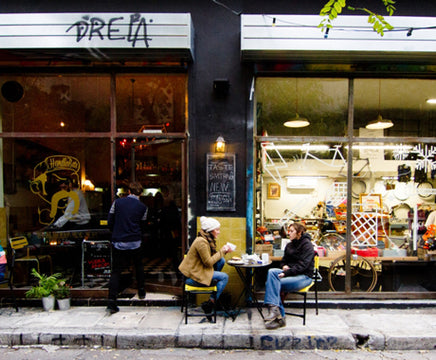 A BIKE SHOP & CAFE CONCEPT ONE-TWO PUNCH FOR ATHENS' FIXIE SCENE