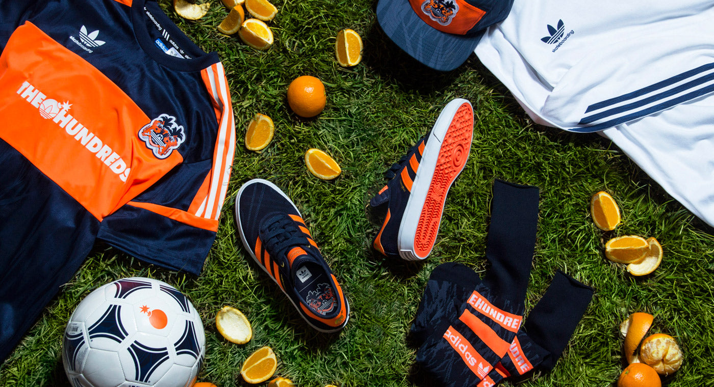 The Hundreds X adidas ::