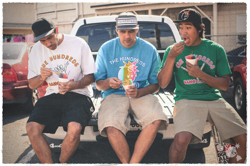 THE HUNDREDS HAWAII