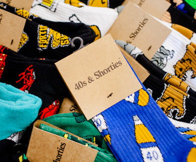 THESE FRIENDS TURNED AN OG EMOJI APP IDEA INTO A SUCCESSFUL SOCK BRAND